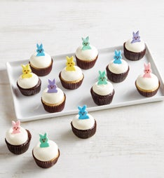 Easter Bunny Party Mini Artisan Cupcakes