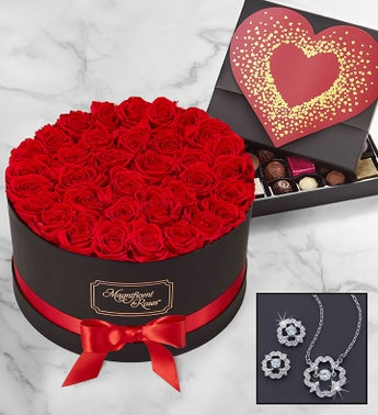 Magnificent Roses Luxury Gift