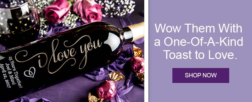 Shop Personalized Wine Bottles