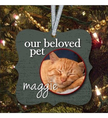 Our Beloved Pet Full Color Ornament