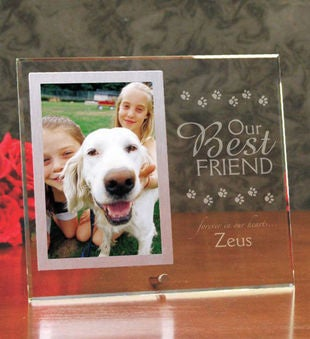 Our Best Friend Pet Memorial Frame from 1-800-FLOWERS.COM