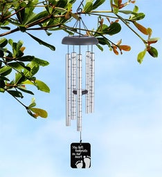 Footprints Memory Personalized Wind Chime
