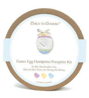 Easter Egg Handprint/Footprint Kit