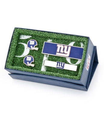 New York Giants Vintage Helmet 3-Piece Gift Set