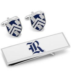 Rice University Cufflinks and Money Clip Gift Set