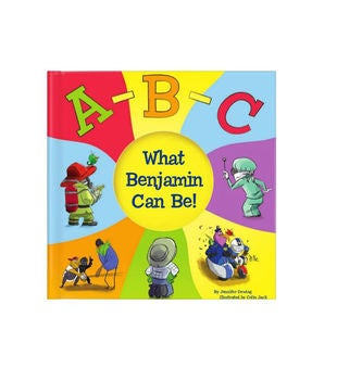 ABC What I Can Be! Personalized Storybook