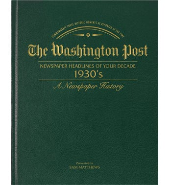 Washington Post s Decade Book