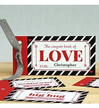 personalized things i d do for love book from 1 800 flowers com