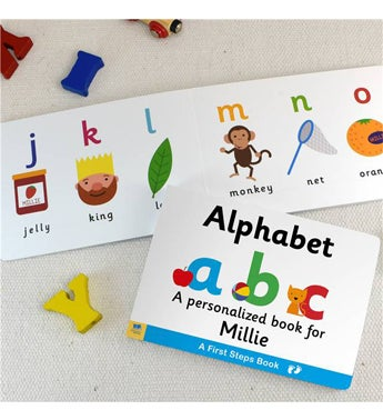 Personalized Alphabet Board Book