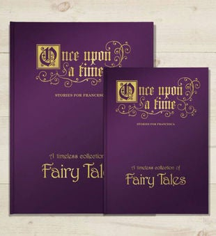 Personalized Once Upon a Fairy Tale Storybook