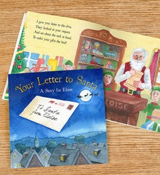 Letter To Santa Personalized Storybook