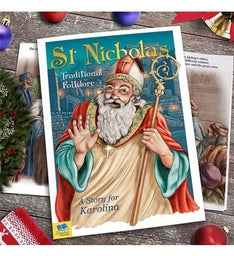 Story of St Nicholas Book