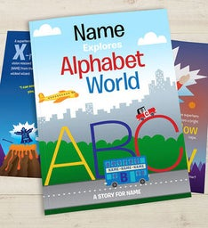 Personalized Kid's Alphabet Book