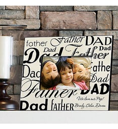 Personalized Dad-Father Photo Frame