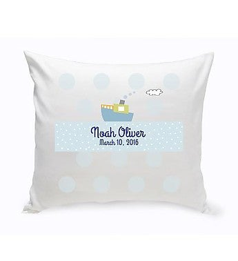 Personalized Baby Nursery Throw Pillow From Personalization Universe