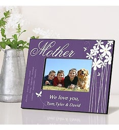 Personalized Bloomin Butterfly Frame