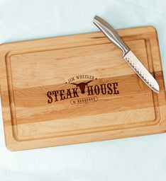 Steakhouse Cutting Board