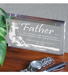 FATHER'S DAY KEEPSAKE - LIGHTING THE WAY