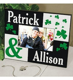 Personalized Irish Couple Picture Frame