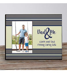Personalized Fathers Day Picture Frame