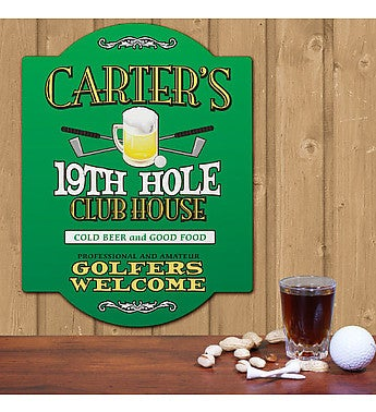 GOLF WALL SIGN