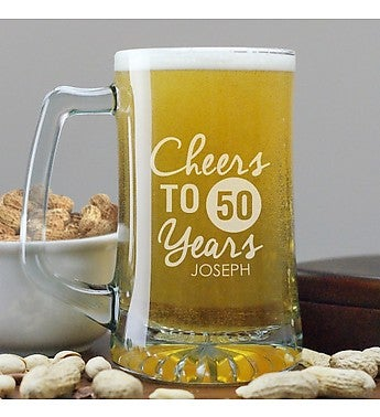 CHEERS BIRTHDAY BEER MUG