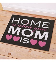 Home Is Where Your Mom Is Doormat