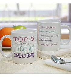 TOP REASONS WHY PERSONALIZED MOM MUG