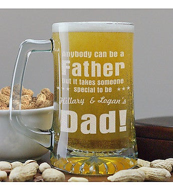 "Personalized ""Anybody Can Be"" Dad Mug"
