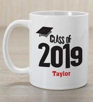 Graduation Cap Personalized Coffee Mug From 1 800 Flowers Com