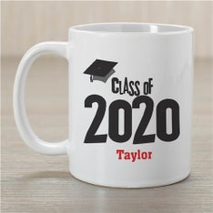 Graduation Cap Personalized Coffee Mug