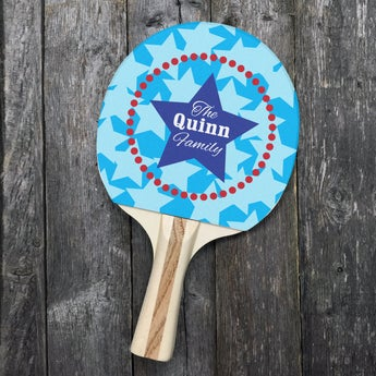 Customized The Quinn Ping Pong Paddle