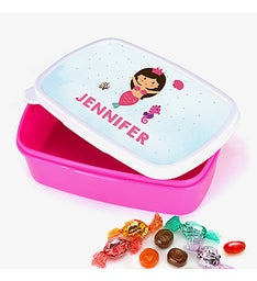 Mermaid Princess Personalized Girls Lunch Box