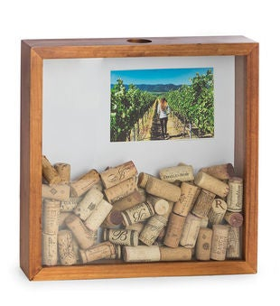 Cork Shadow Box