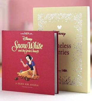 Timeless Snow White Book Personalized Storybook