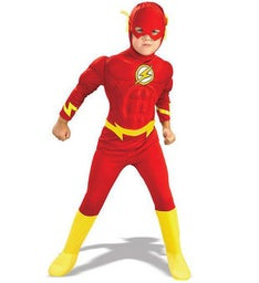 The Flash Muscle Chest Deluxe ToddlerChild Costume