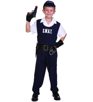 S.W.A.T. Team Child Costume