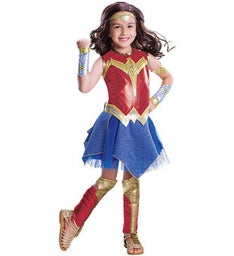 Wonder Woman Deluxe Childrens Costume