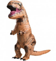 Adult Jurassic Park T-Rex Inflatable Costume