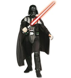 Mens Deluxe Darth Vader Star Wars Costume