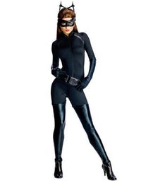 Dark Knight Rises Catwoman Sexy Womens Costume