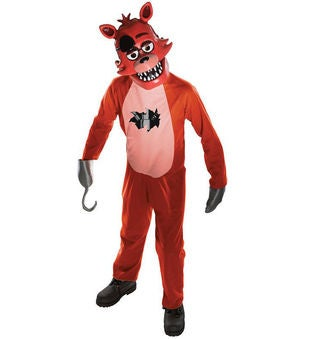 Five Nights at Freddys: Kid's Foxy Costume