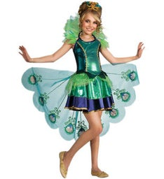 Childs Peacock Costume