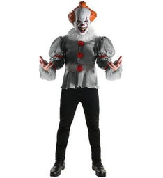 Mens IT Costume - Pennywise Costume