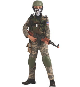 Boy's Commando Costume