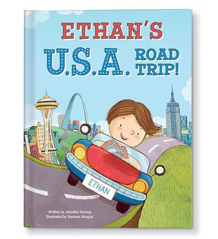 My U.S.A. Road Trip Personalized Storybook