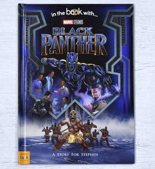 Personalized Black Panther Storybook