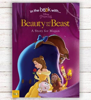 Personalized  Beauty & the Beast Storybook