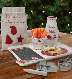 Personalized Santas Cookie Platter