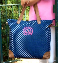Personalized Charlie Dot Shoulder Bag